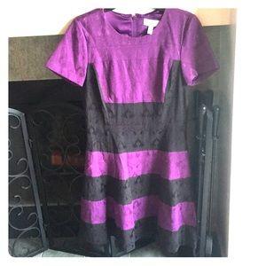 Badgley Mischka Color Block Dress